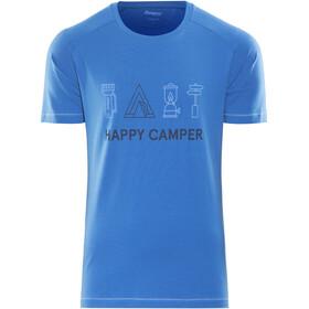 Bergans Happy Camper t-shirt Heren blauw